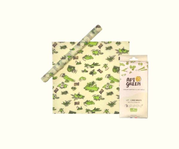 Lot 2 Bee Wraps medium